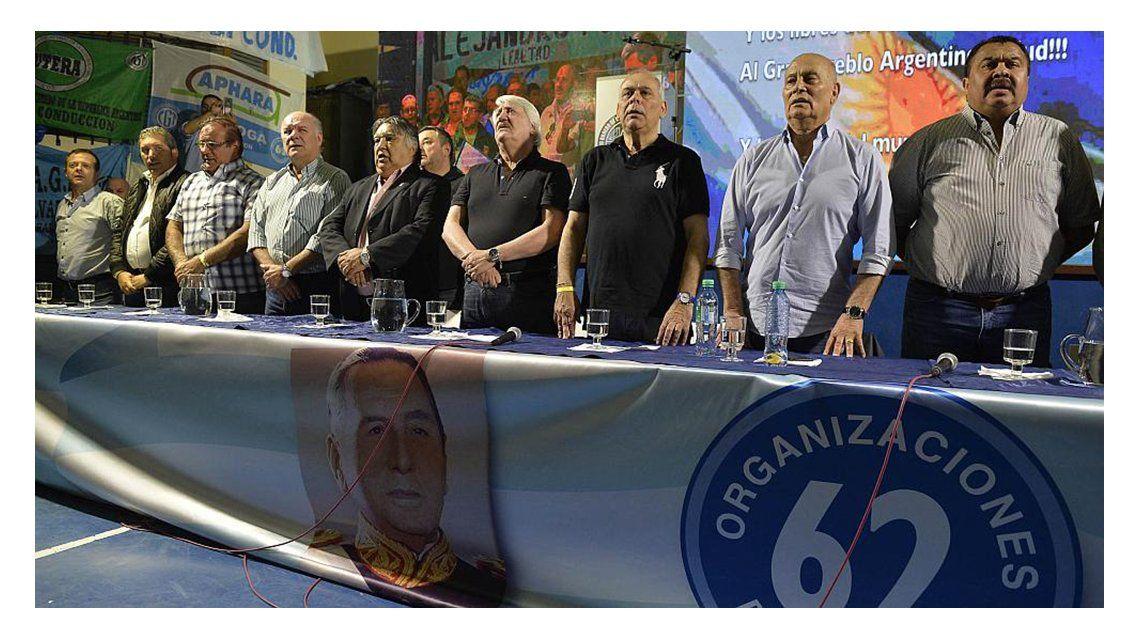 Las 62 Organizaciones tildaron de mamarrachos a los líderes de la CGT