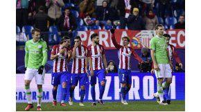 El Atlético de SImeone venció al PSV como local