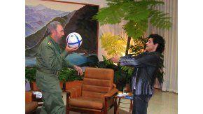 La historia desopilante de Fidel y Diego