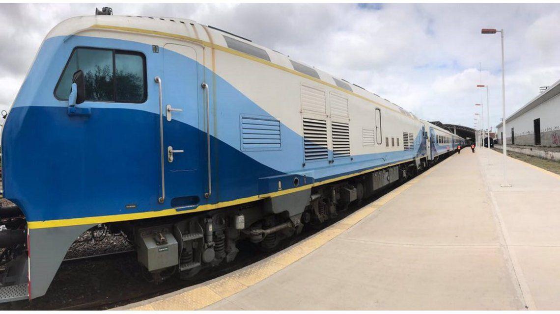Tren de Mar del Plata
