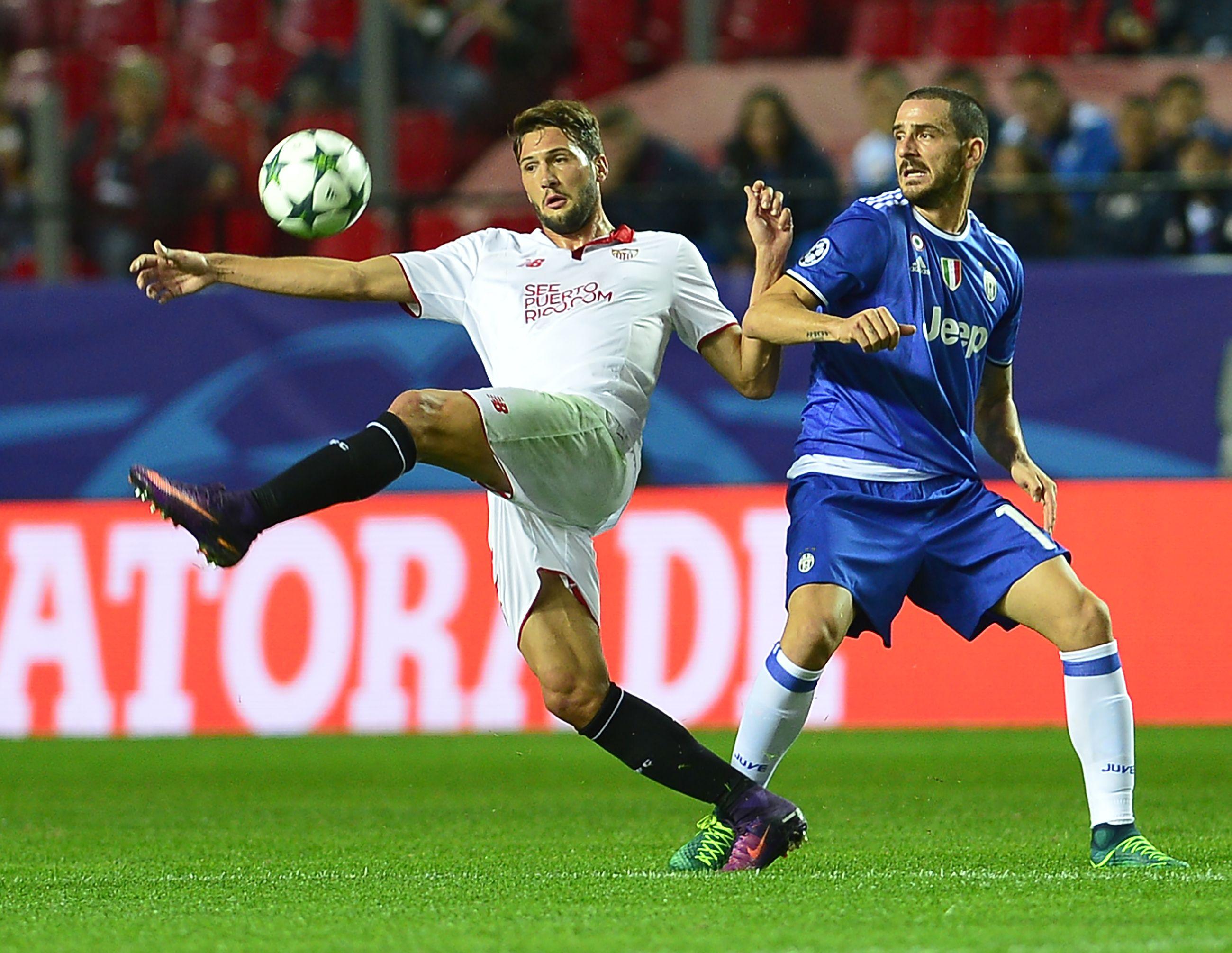 Sevilla enfrenta a Juventus por Champions League
