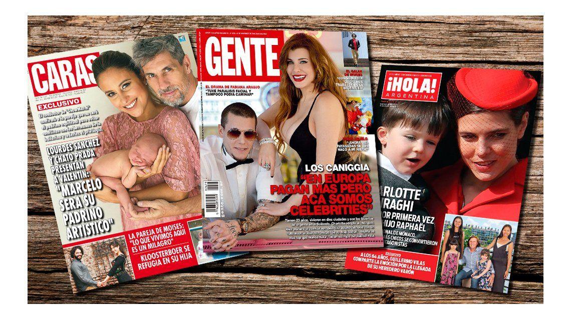 Mir las tapas de la revistas de esta semana lourdes s nchez for Revistas de espectaculos de esta semana
