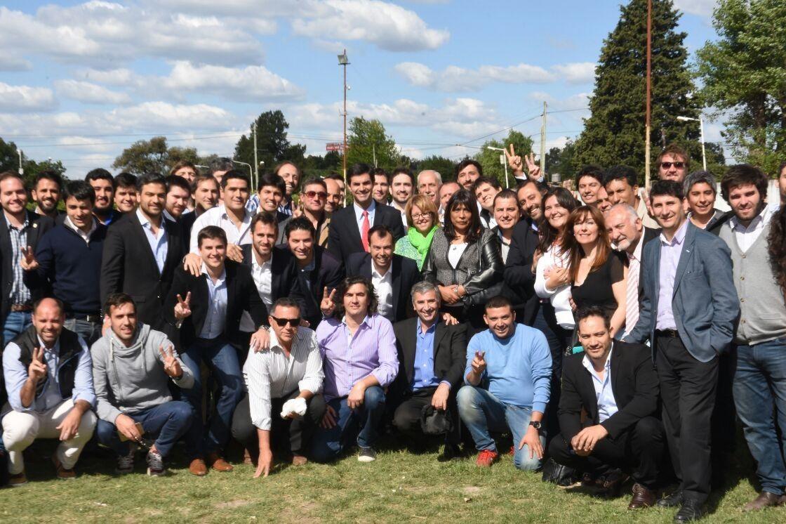 Juan Manuel Urtubey se reunió con jóvenes referentes peronistas.