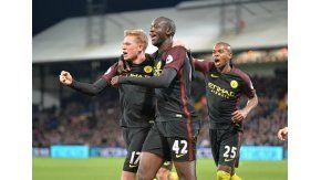 Yaya Touré fue la gran figura del Manchester City en su visita al Crystal Palace