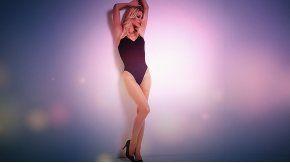 Nicole Neumann, muy sensual.