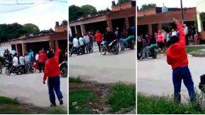 A los tiros, despidieron a un ladrón en Tucumán.