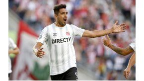 Lucas Viatri le dio la victoria a Estudiantes sobre Colón en La Plata