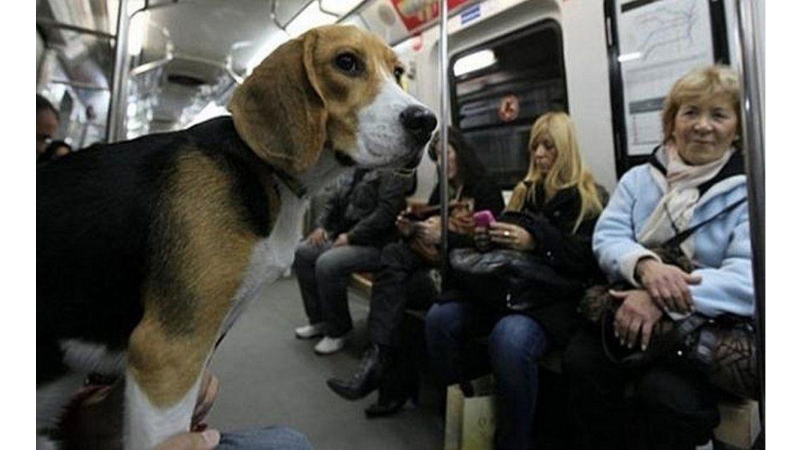 En los metros de Londres