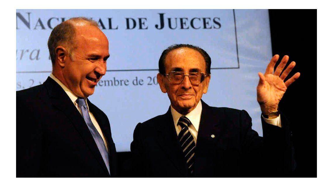 Ricardo Lorenzetti y Carlos Fayt