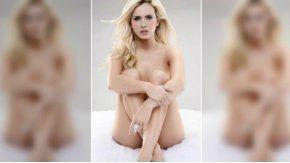 El desnudo cuidado de Ale Maglietti.