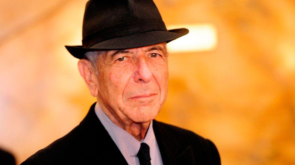 Revelaron la causa de la muerte de Leonard Cohen