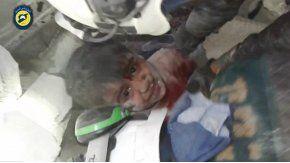 El niño de 6 años fue rescatado