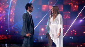 Jennifer Lopez y Marc Anthony hicieron un cover de Pimpinela.