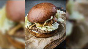 ¿Te animarías a probar esta hamburguesa?