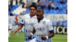 Jaime Ayoví anotó el segundo gol de Godoy Cruz ante Tigre