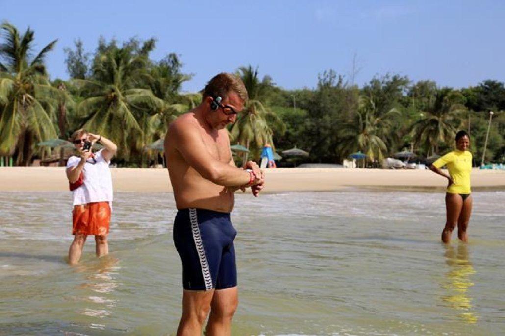 El británico Ben Hooper irá desde Dakar (Senegal) hasta la costa de Brasil