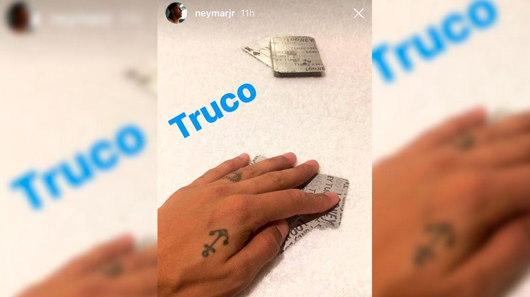 La publicación de Neymar en Lima