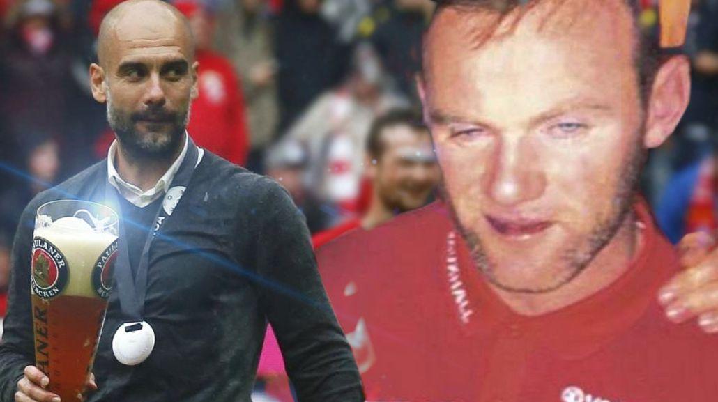 Pep Guardiola opinó sobre la situación de Wayne Rooney