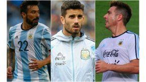 Lavezzi, Musacchio y Buffarini, excluidos por Bauza del banco de suplentes para el partido ante Colombia
