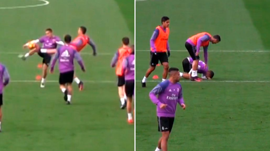 La terrible plancha de Cristiano Ronaldo