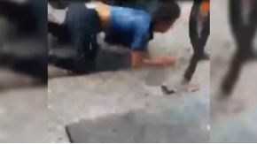 Un joven se salvó de milagro tras ser atropellado en Tucumán.