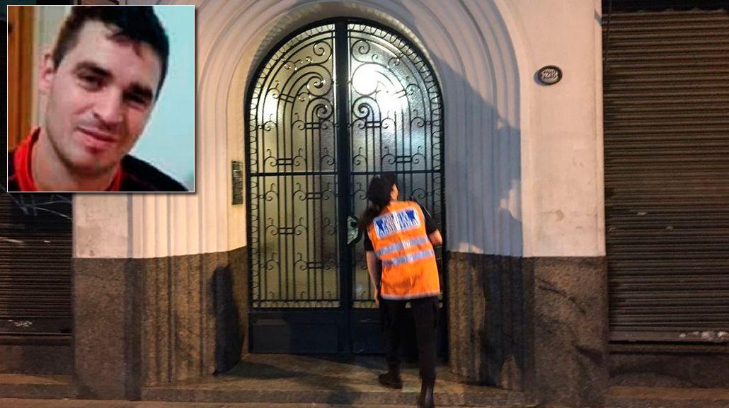 El arbolito Nicolás Silva apareció muerto en el barrio porteño de Monserrat.