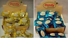 Los productos Bocadito Marroc y Bocadito de Dulce de Leche, de la marca Dandy Chocolate.