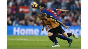 Sin Messi, Barcelona no pudo marcar diferencias