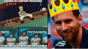Memes de Argentina 3 - Colombia 0