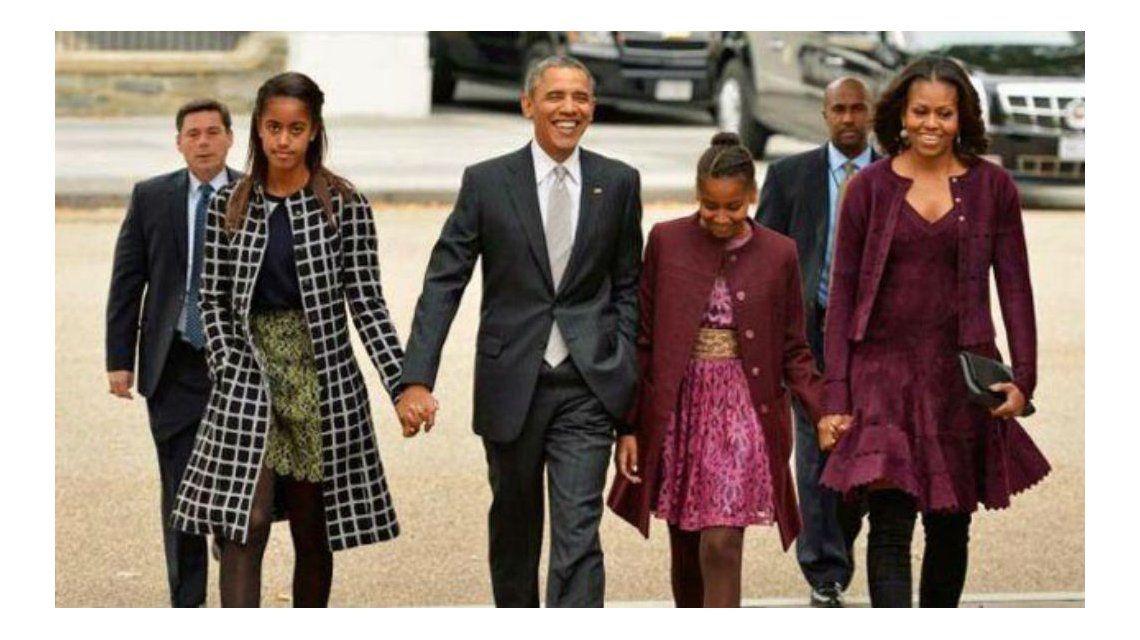 Obama y su familia estarán en Washington durante dos años más.