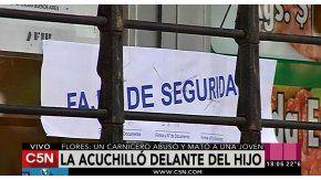 Una mujer de 26 años fue asesinada en una carnicería del barrio porteño de Flores.