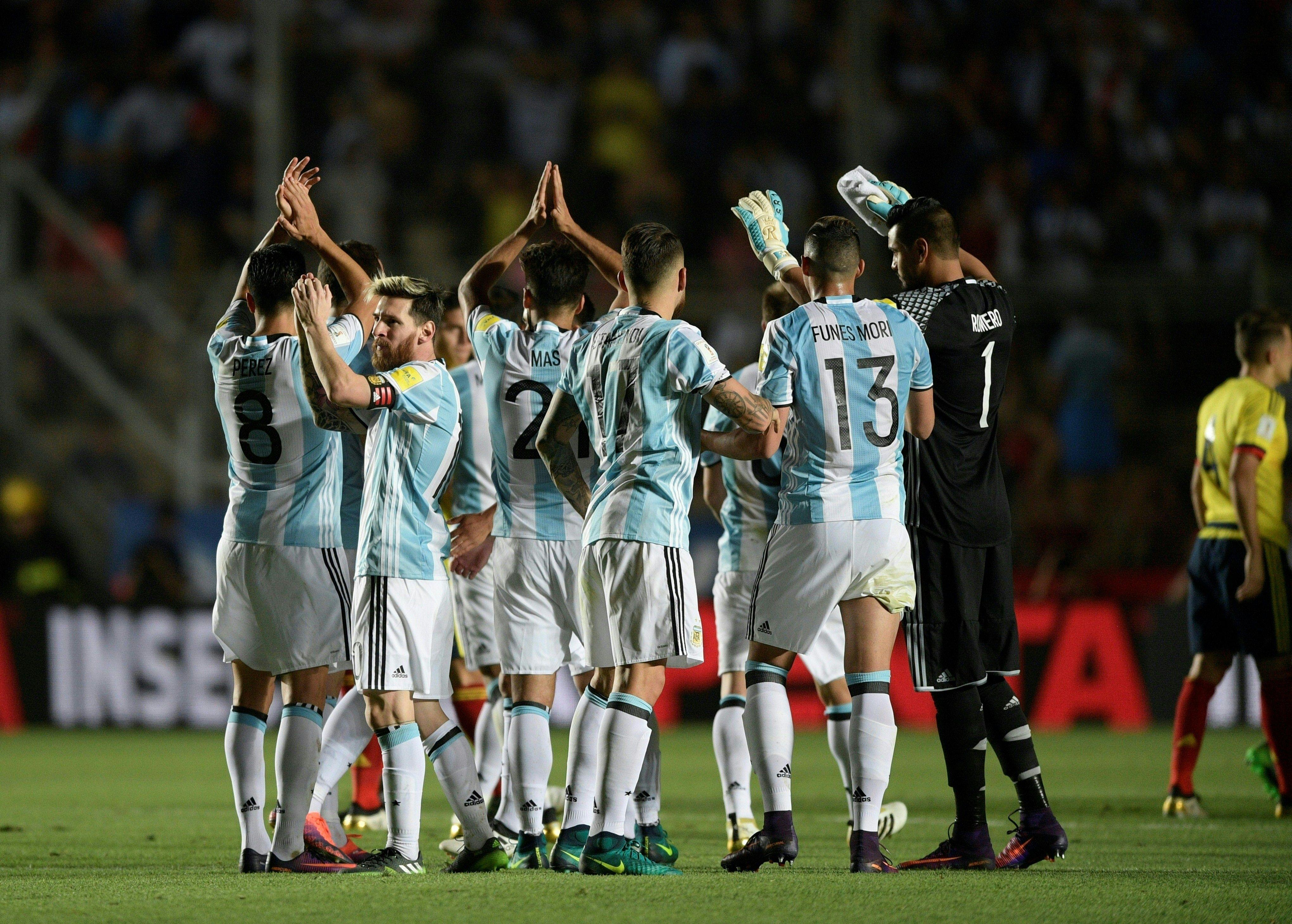 Argentina goleó a Colombia en San Juan por las Eliminatorias