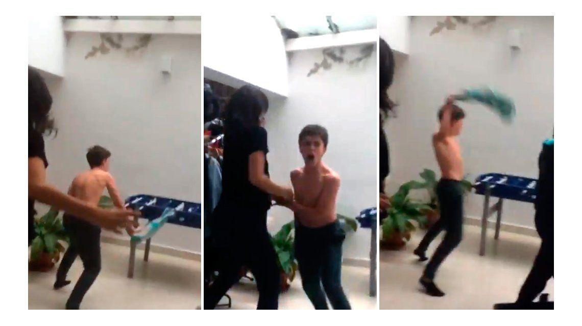 El hijo de Emmanuel Horvilleur y Celeste Cid explotó gritando un gol de Vélez
