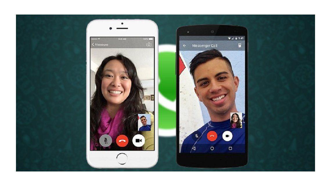 WhatsApp activó las videollamadas en teléfonos Android