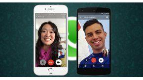 WhatsApp activó las videollamadas en teléfonos Android, iOS y Windows Phone