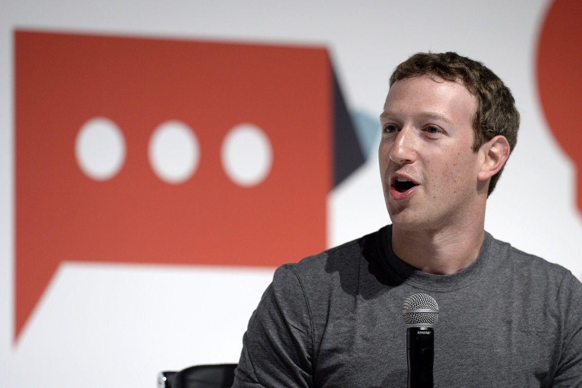 El creador de Facebook negó querer presentarse como candidato presidencial