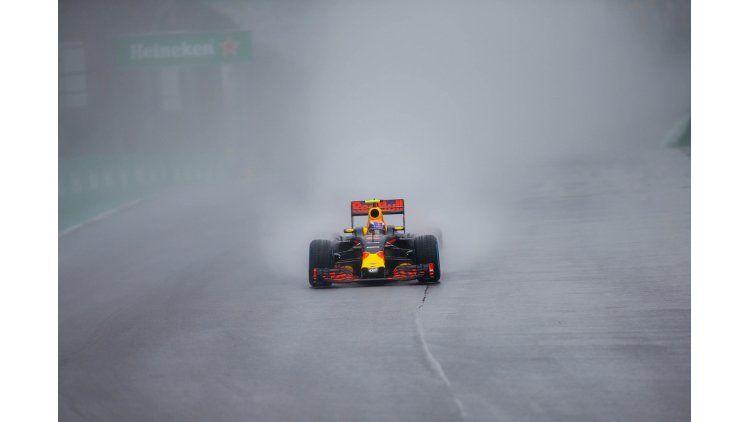 Maniobra de Verstappen en el GP de Brasil
