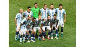 Los 11 de Argentina que salieron a la cancha en el Mineirao