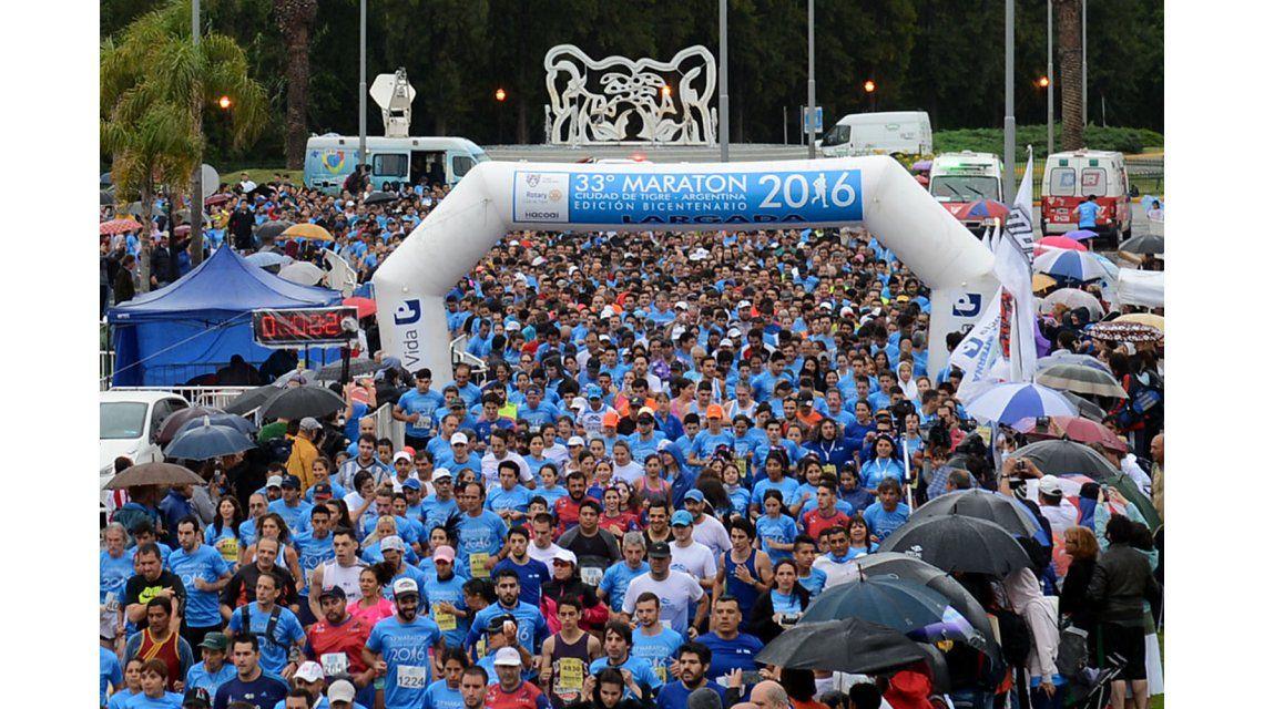 La maratón de Tigre fue un éxito