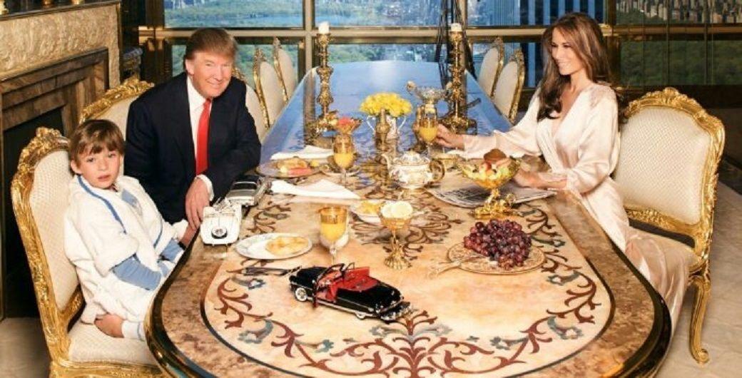 La ilusión óptica en una foto de Donald Trump que se viralizó