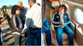 El narcotraficante fue extraditado esta mañana a Estados Unidos