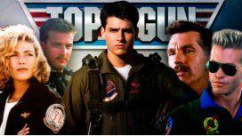 Mirá cómo están los protagonistas de Top Gun hoy