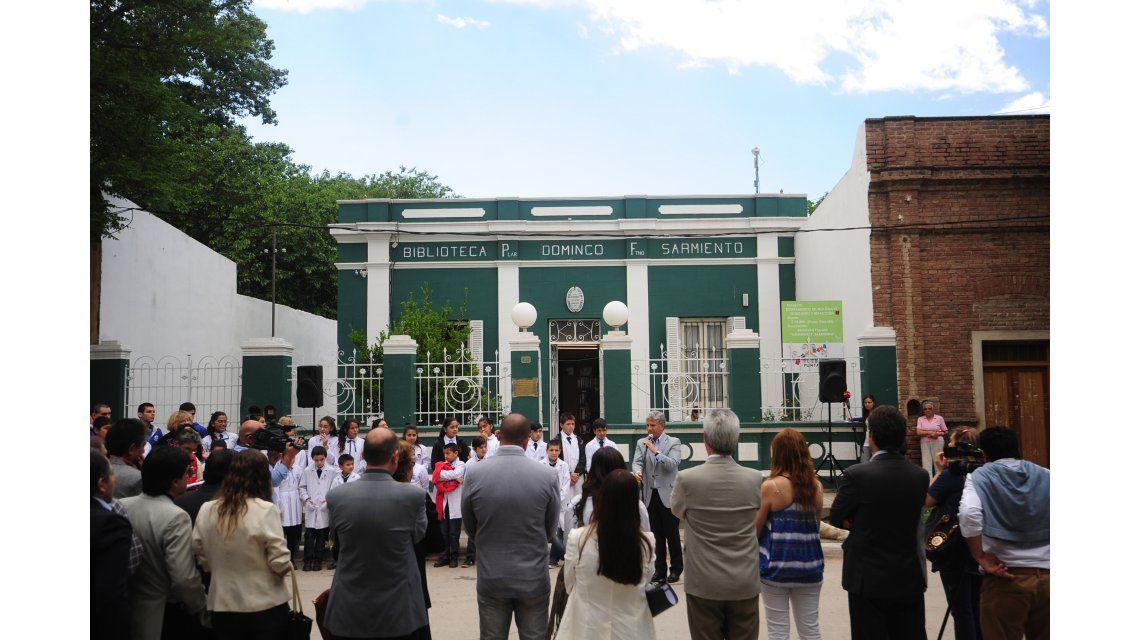 Escuela en Justo Daract