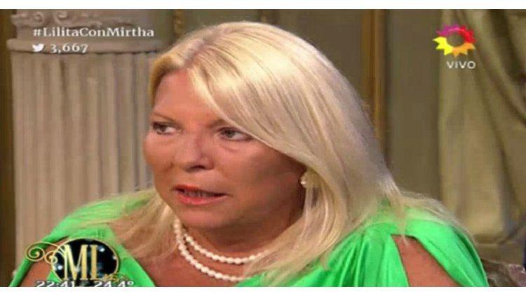 Carrió alertó sobre los brotes de xenofobia en el programa de Mirtha Legrand