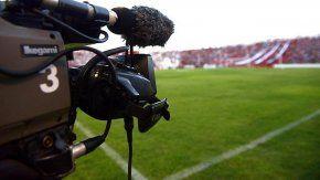 Televisación del fútbol. Imagen de archivo