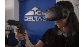 Delta 3, la empresa de realidad virtual que desarrolla en Lanús