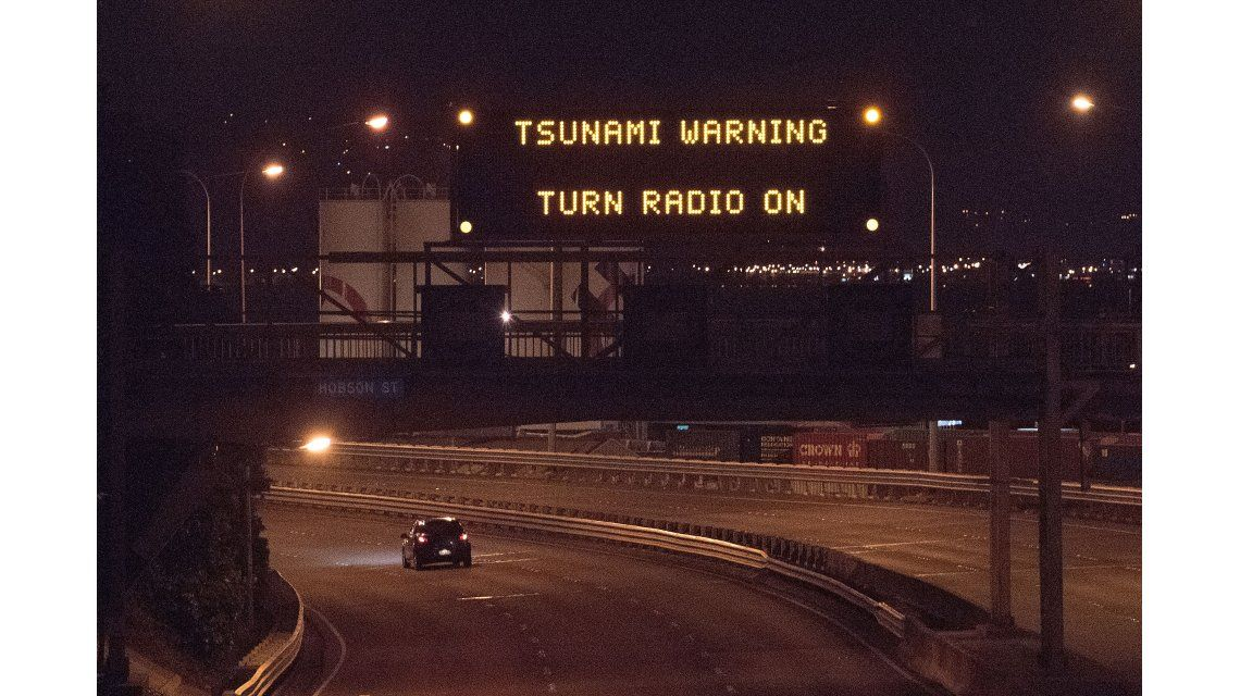 Tsunami de dos metros afectó Nueva Zelanda tras sismo de 7