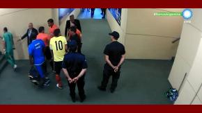 El entredicho entre James Rodríguez y Roddy Zambrano, el árbitro del encuentro