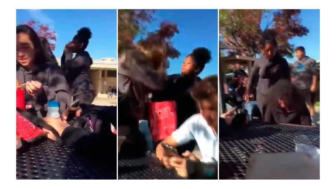 VIDEO: Atacan a una estudiante de secundario por apoyar a Donald Trump