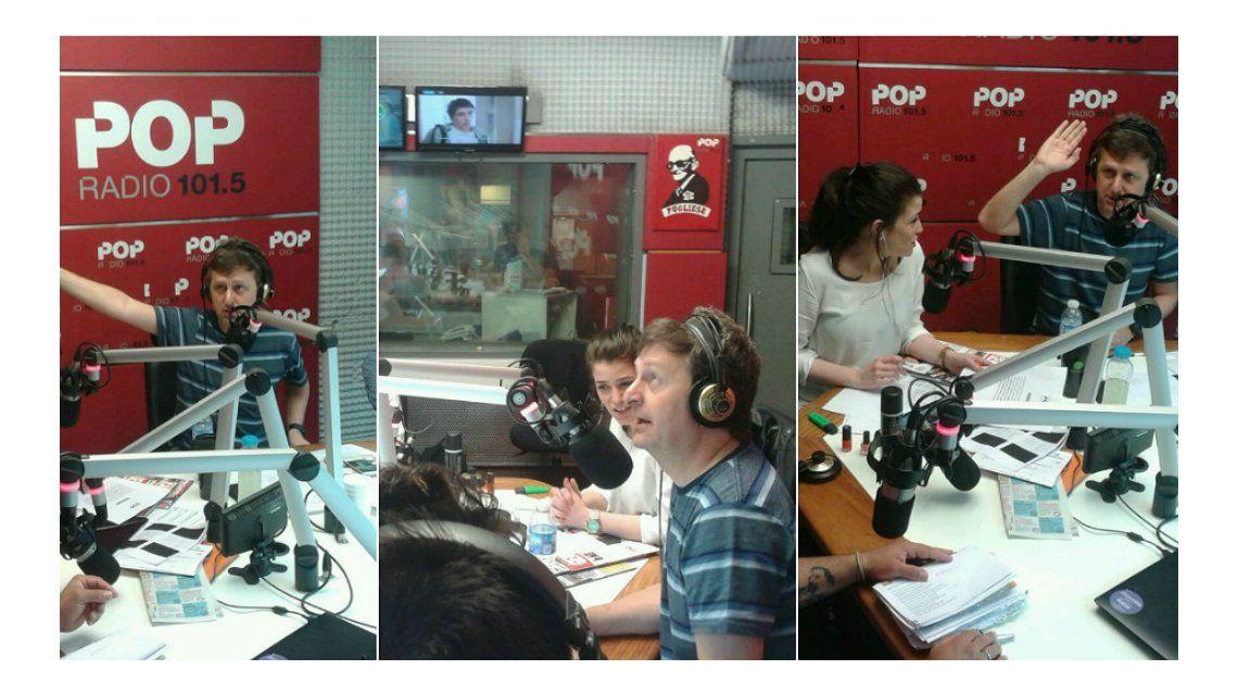 Diego Korol en Pop Radio.